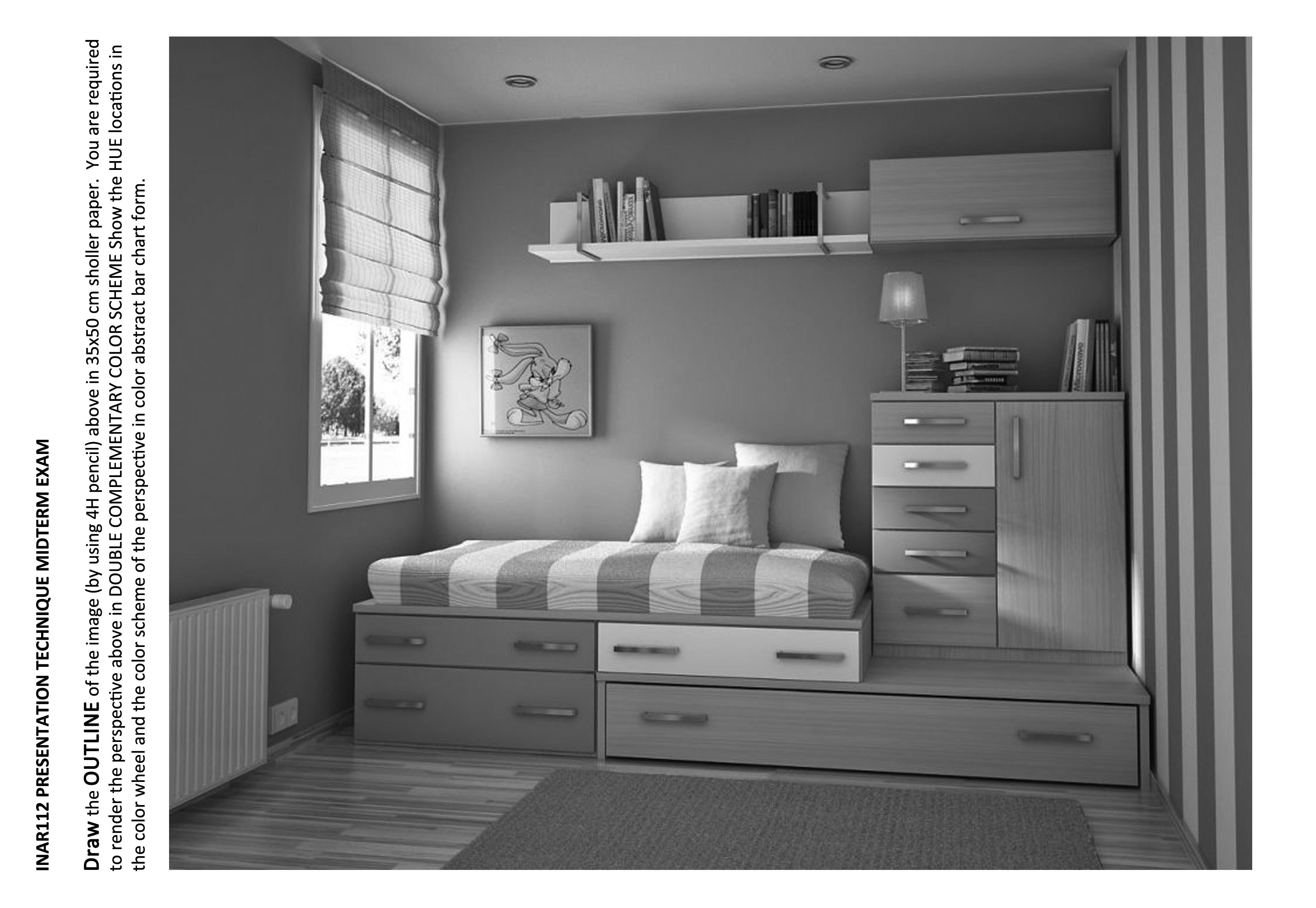 Слова: дизайн комнаты подростка.